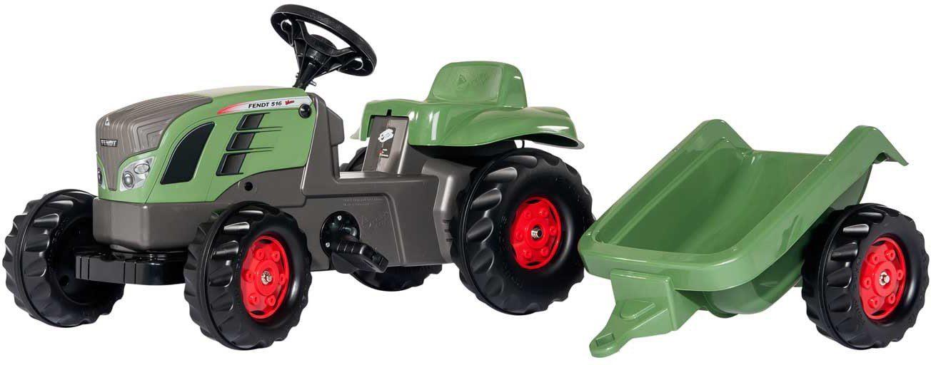 rolly® toys Trettraktor mit Anhänger, »rollyKid Fendt 516 Vario«