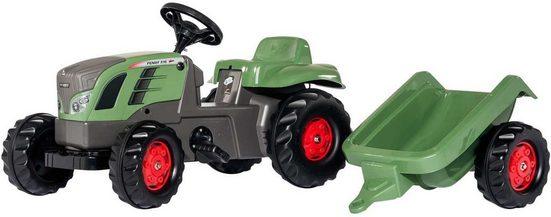 rolly toys® Trettraktor »rollyKid Fendt 516 Vario«, mit Anhänger