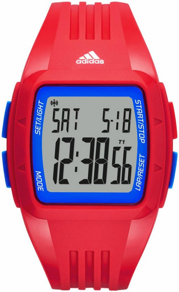 adidas Performance Chronograph »DURAMO, ADP3271« in rot