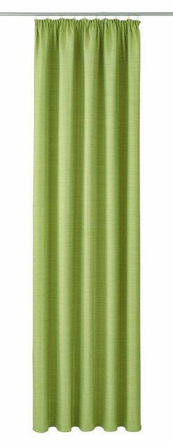 Vorhang »Pina«| VHG| Kräuselband (1 Stück) | Heimtextilien > Gardinen und Vorhänge > Vorhänge | Grün | Polyester | VHG
