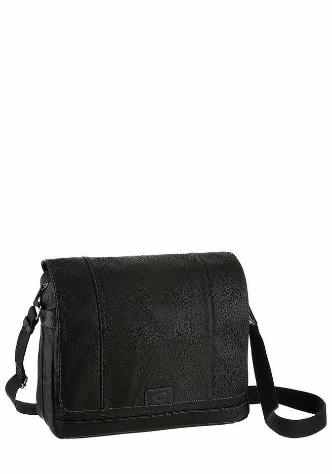 Camel Active Messenger Bag in schwarz
