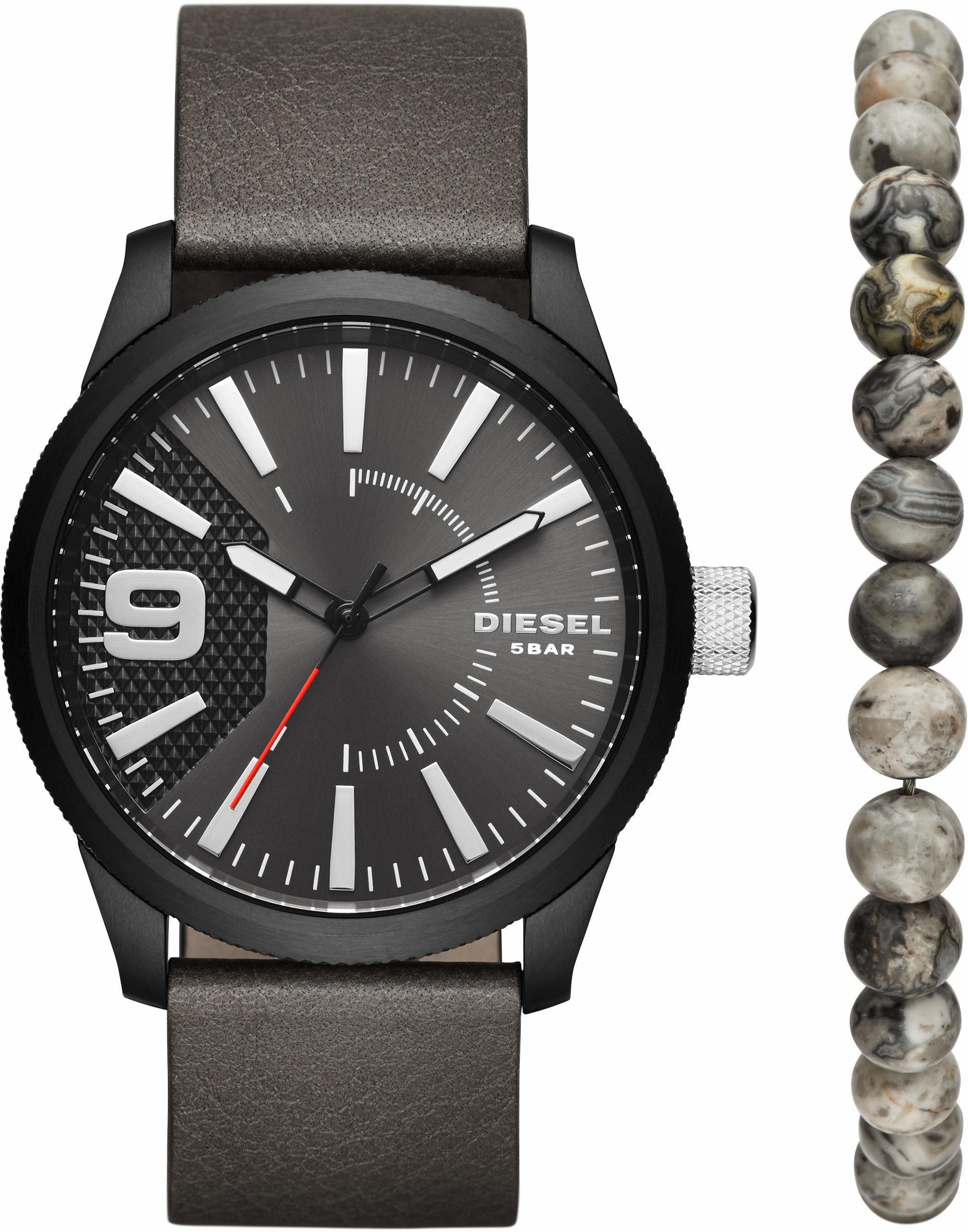 Diesel Quarzuhr »DZ1776« (Set, 2 tlg), mit Armband