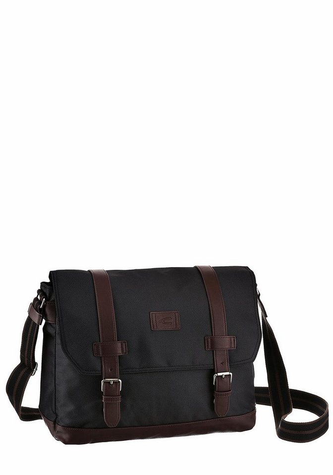 Camel Active Messenger Bag in schwarz
