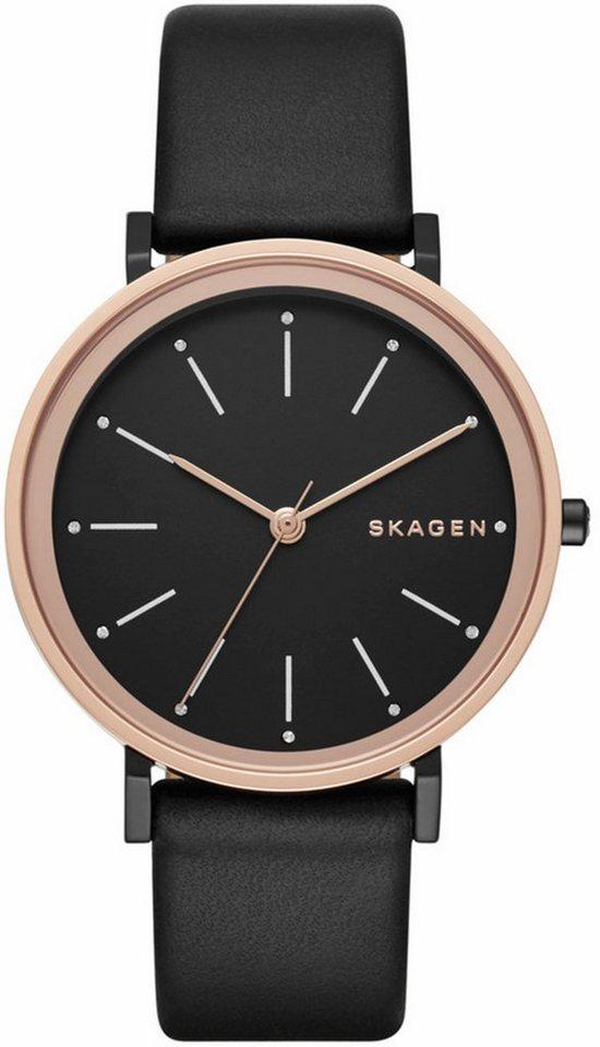Skagen Quarzuhr »HALD, SKW2490« in schwarz