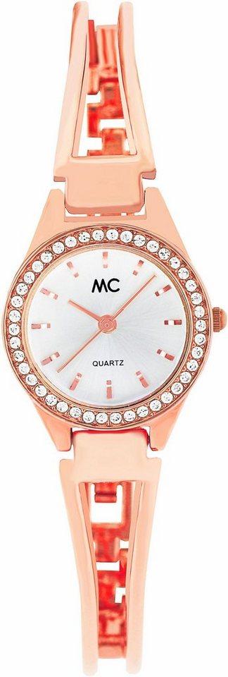 MC Quarzuhr »51413« in roségoldfarben