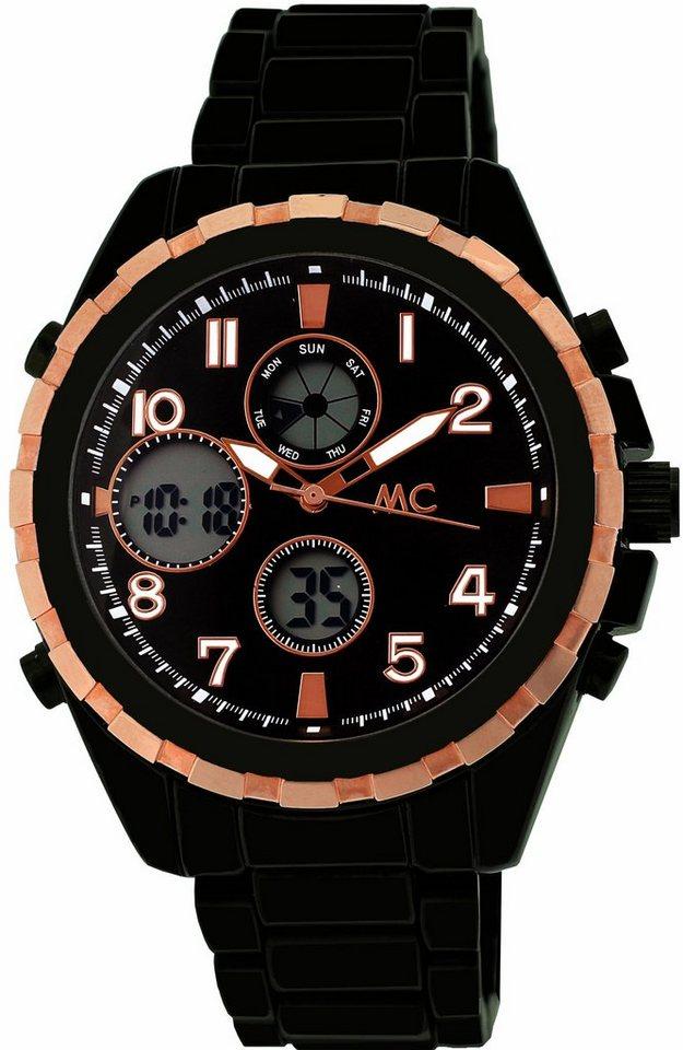 MC Multifunktionsuhr »20459« in schwarz