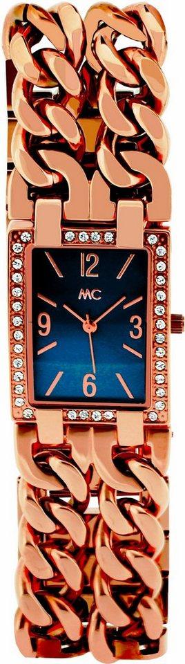 MC Quarzuhr »51852« in roségoldfarben