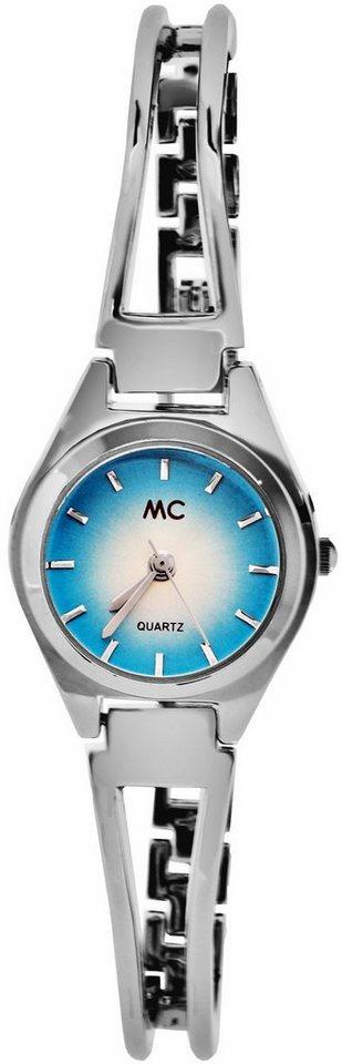 MC Quarzuhr »17038« in silberfarben