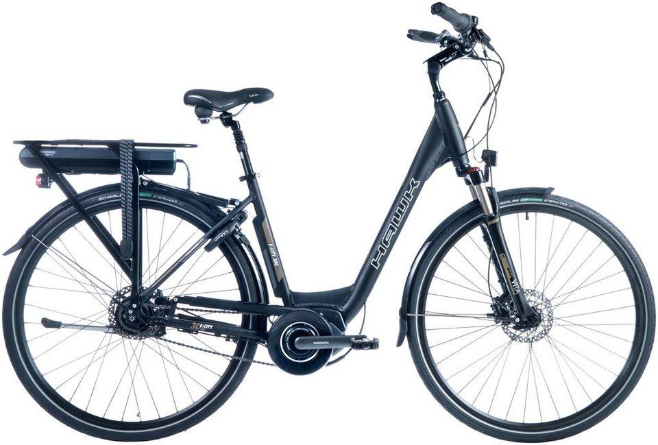 hawk e bike city damen shimano steps rh 46cm 28 zoll. Black Bedroom Furniture Sets. Home Design Ideas