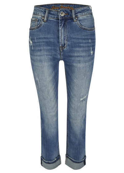 Blue Monkey Gerade Jeans »Mila« (1-tlg)