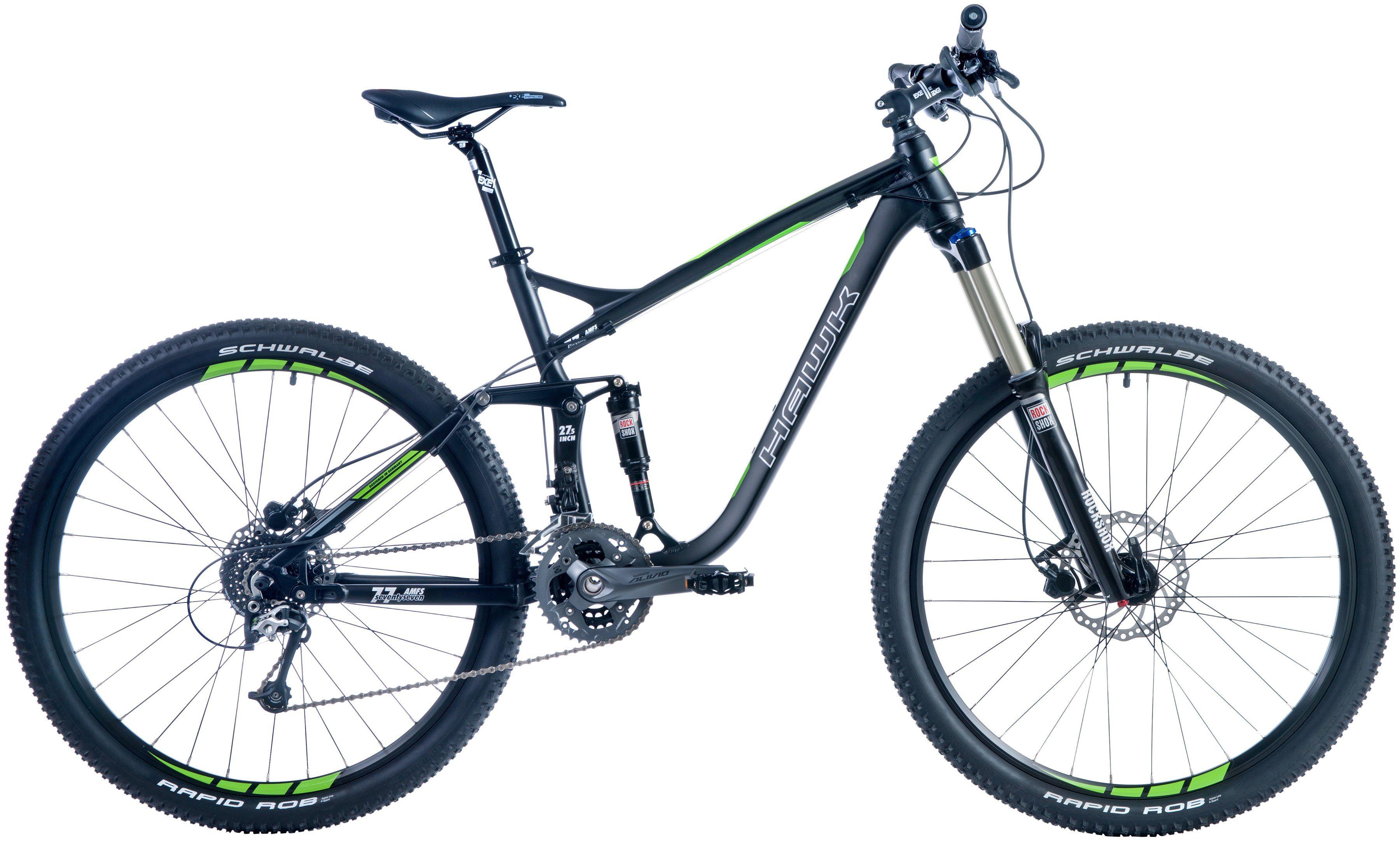 Hawk Mountainbike »Seventyseven «, RH 50, 27,5 Zoll, 27 Gang, Hydraulische Scheibenbremsen