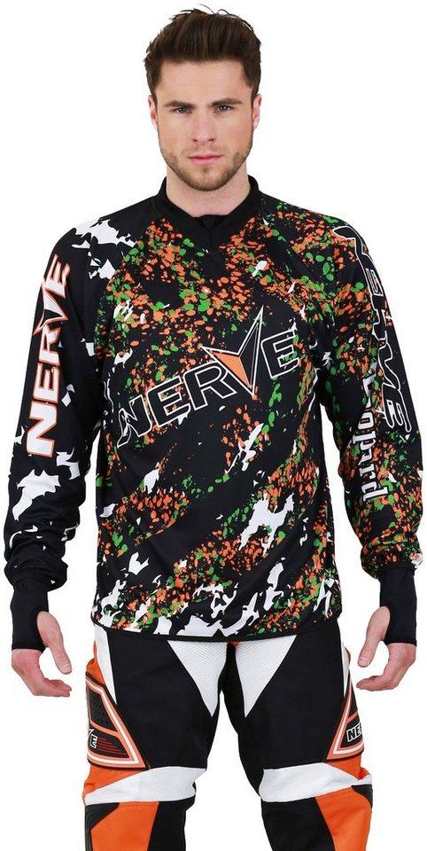 Motocross-Shirt »Nerve« in orange
