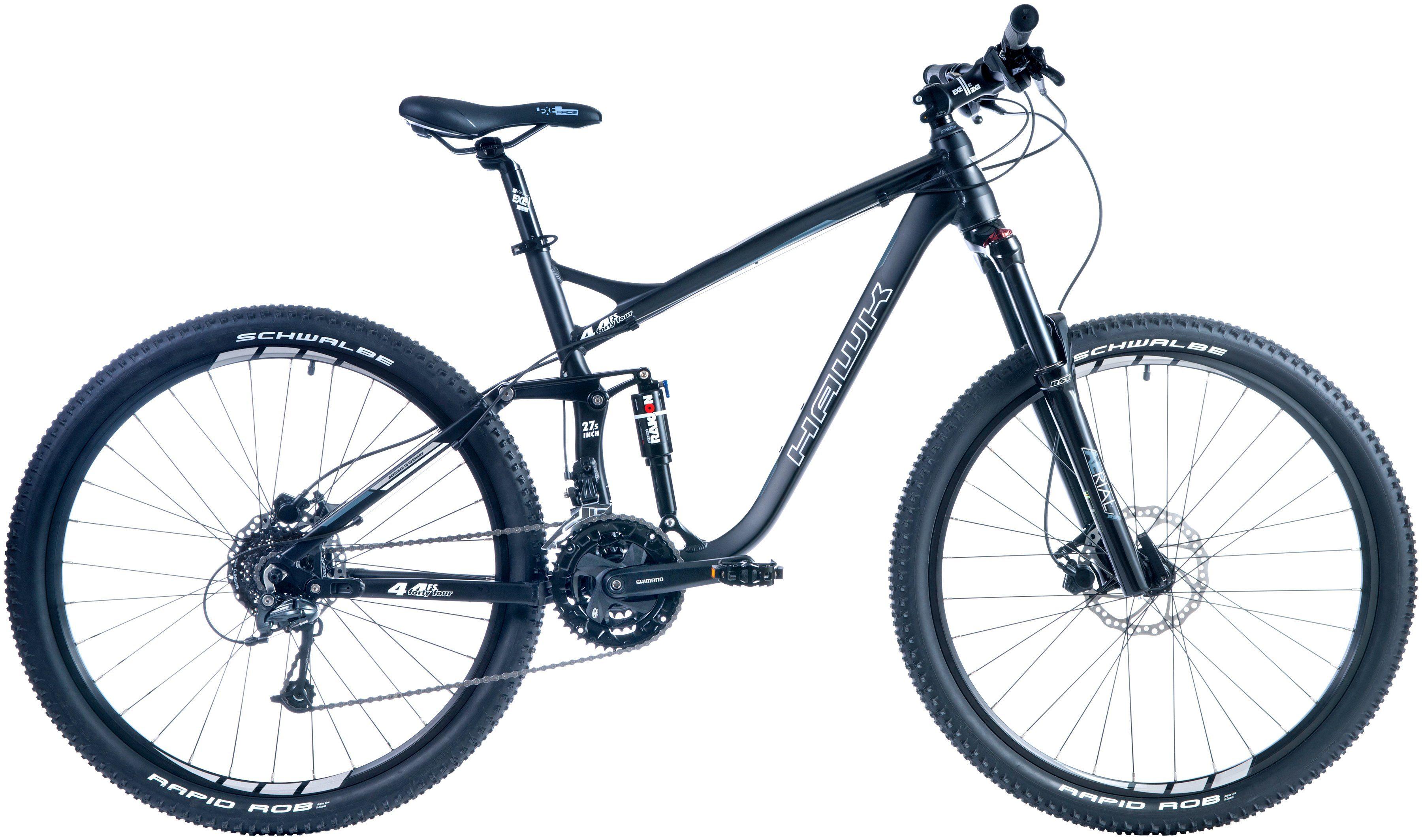 Hawk Mountainbike »Fourtyfour FS«, RH40, 27,5 Zoll, 27 Gang, Hydraulische Scheibenbremsen