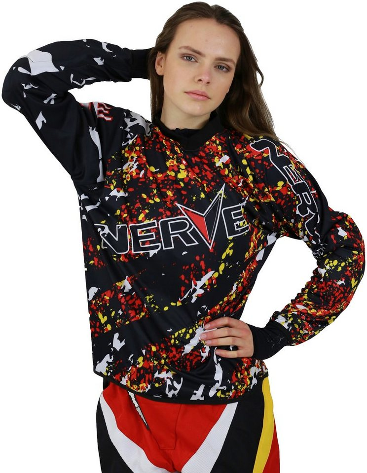 Motocross-Shirt »Nerve« in rot