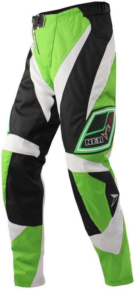 Motorradhose »Nerve Motocross« in grün