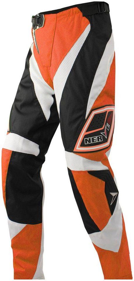 Motorradhose »Nerve Motocross« in orange
