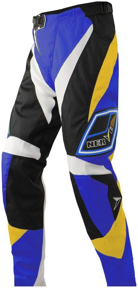 Motorradhose »Nerve Motocross« in blau