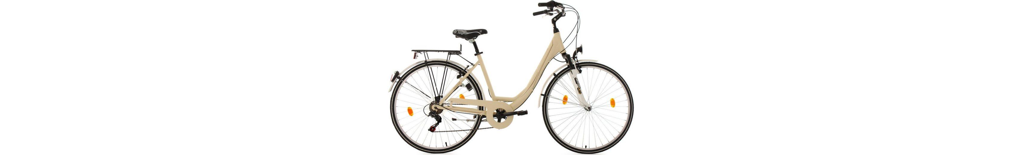 KS Cycling Damen-Cityrad, 28 Zoll, 6 Gang Shimano-Tourney-Kettenschaltung, »Paris«