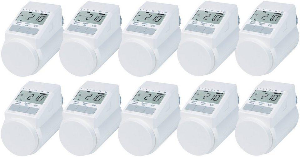 Sparset: Heizkörperthermostat »Classic L, 10er-Set« in weiß