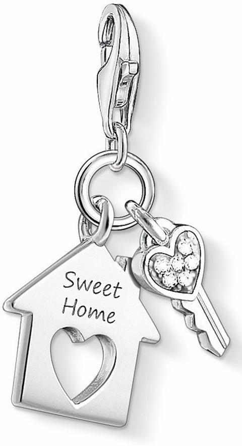 Thomas Sabo Charm-Einhänger »SWEET HOME, 1311-051-14« mit Zirkonia in Silber 925