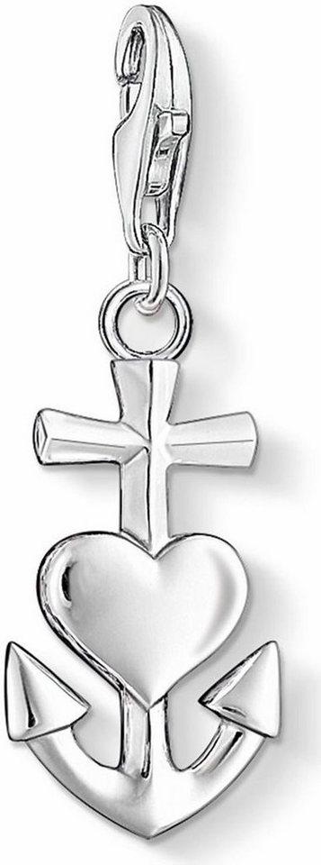Thomas Sabo Charm-Einhänger »Glaube, Liebe, Hoffnung, 0083-001-12« in Silber 925