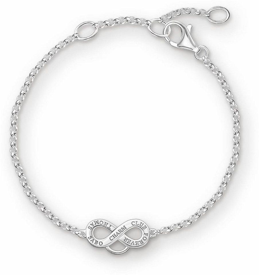 Thomas Sabo Charm-Armband »Armband, X0204-001-12-L19,5v« in Silber 925