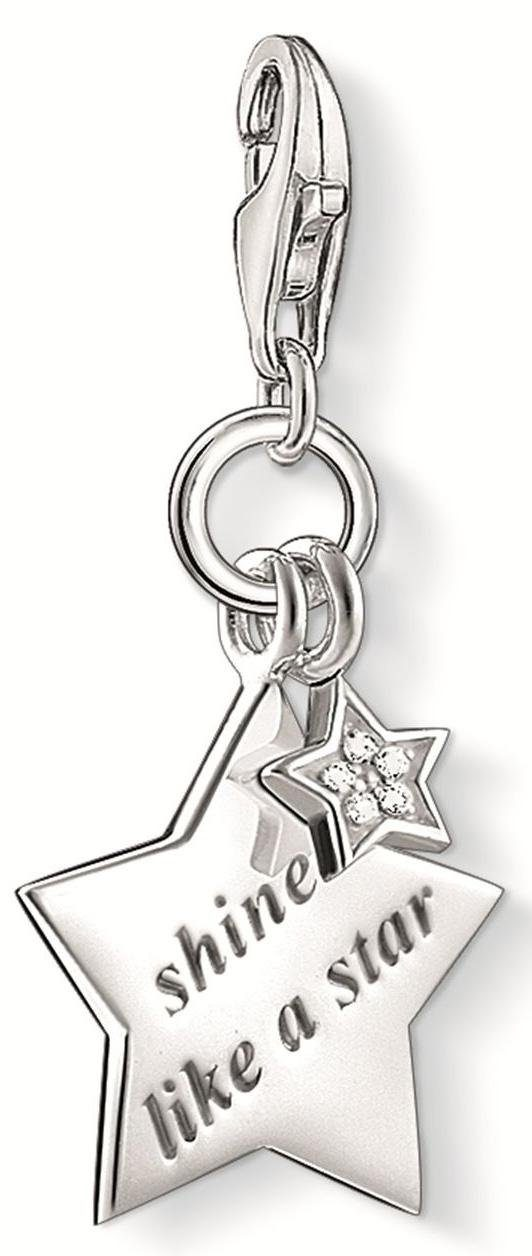 Thomas Sabo Charm-Einhänger »SHINE LIKE A STAR, DC0031-725-14« mit Diamanten
