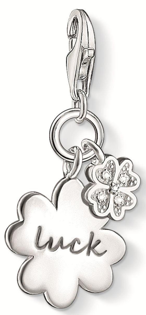Thomas Sabo Charm-Einhänger »LUCK, DC0032-725-14«, mit Diamanten