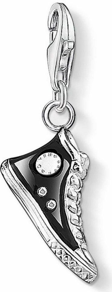 Thomas Sabo Charm-Einhänger »Sneaker, 0356-007-11« in Silber 925-schwarz