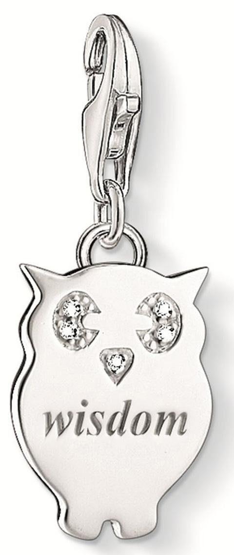 Thomas Sabo Charm-Einhänger »WISDOM, DC0033-725-14« mit Diamanten