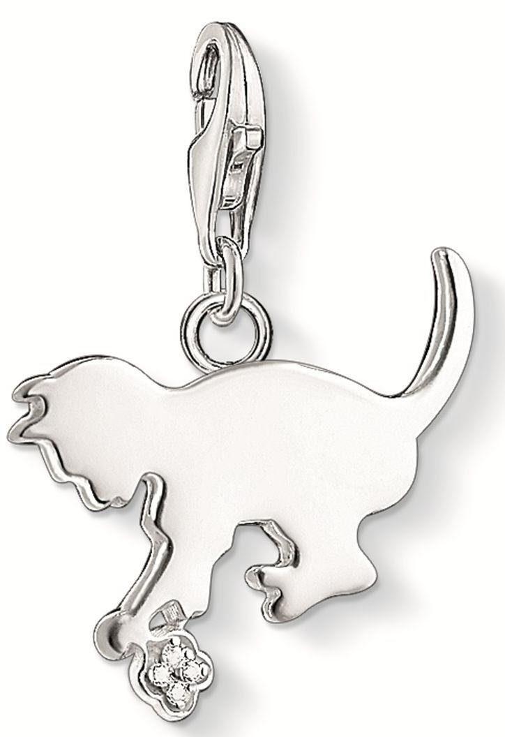 Thomas Sabo Charm-Einhänger »Kätzchen, DC0025-725-14« mit Diamanten
