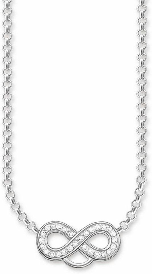 Thomas Sabo Charm-Kette »Infinity/Unendlichkeit, Kette, X0205-051-14-L42v« mit Zirkonia in Silber 925