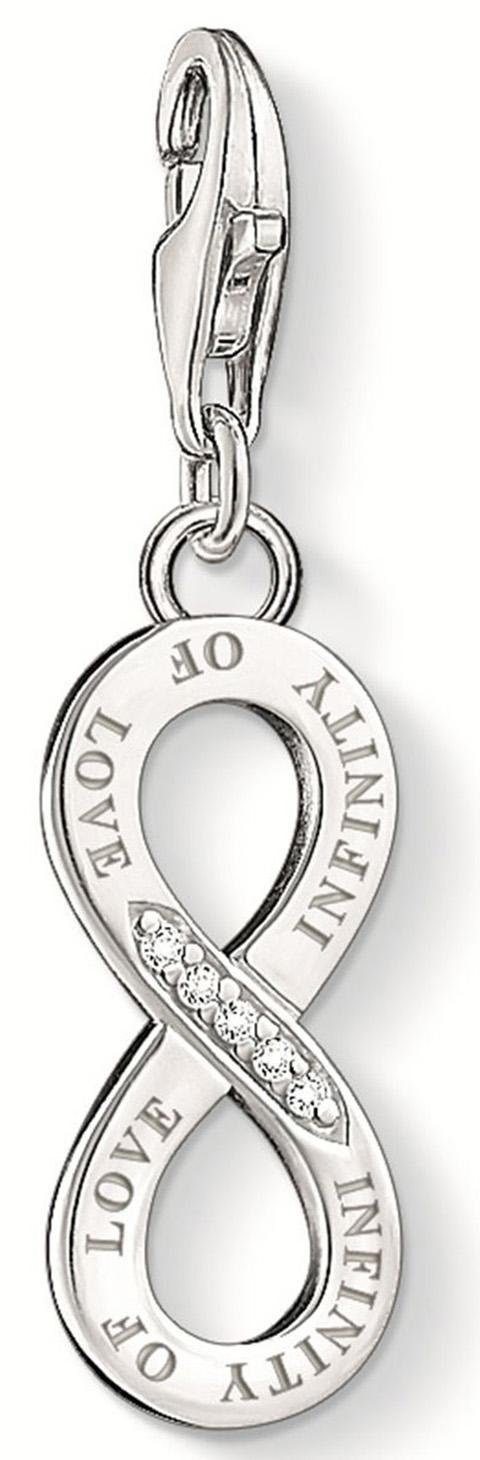 THOMAS SABO Charm-Einhänger »INFINITY OF LOVE, DC0027-725-14«, mit Diamanten