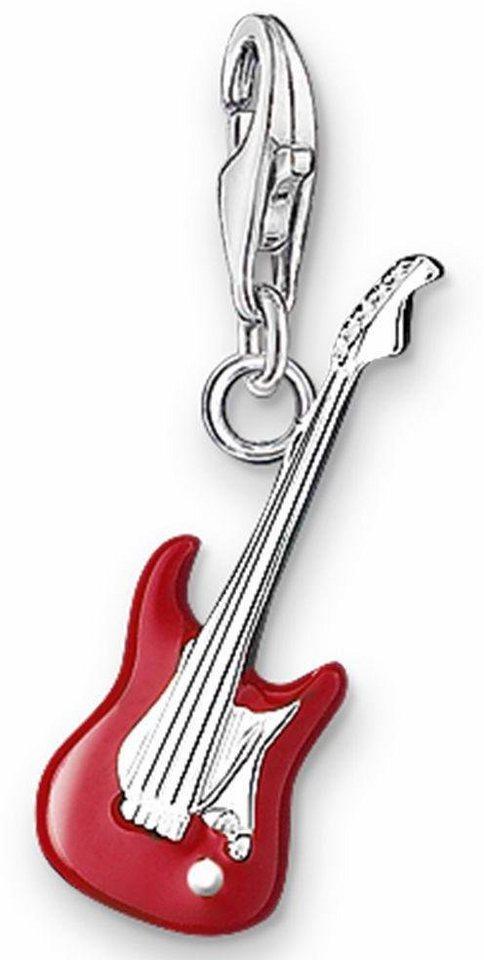 Thomas Sabo Charm-Einhänger »E-Gitarre, 0581-007-10« in Silber 925-rot