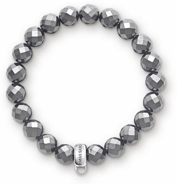 THOMAS SABO Charm-Armband »X0187-064-11-M, 11-S«, mit Hämatit | Schmuck > Armbänder > Charm-Armbänder | Thomas Sabo