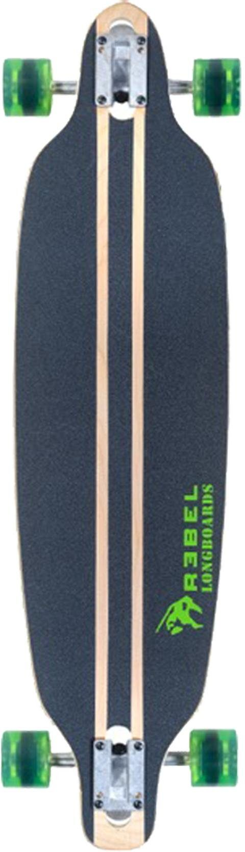 Rebel Longboard »Pacific Palisades green«