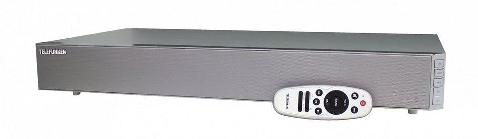 Telefunken Bluetooth-TV-Soundbar »SA101BR2« in Silber