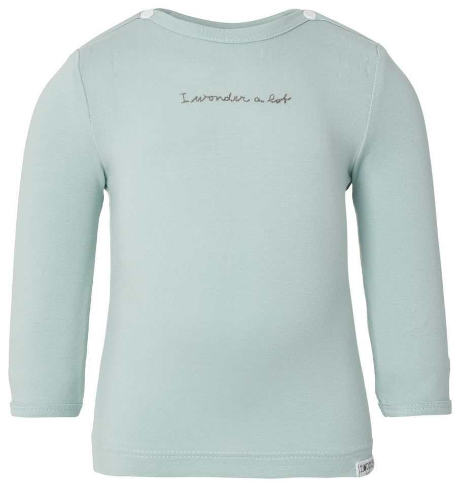 NOPPIES Langarmshirt »Chris« in Grey Mint