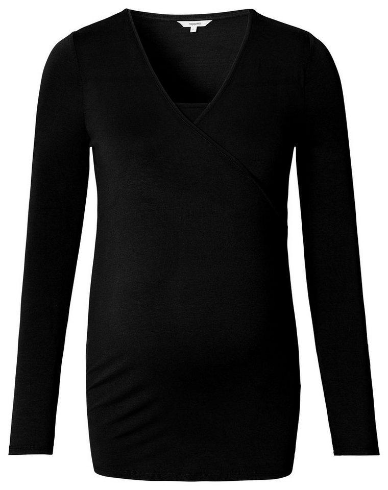NOPPIES Still-Shirt »Ellen« in Black