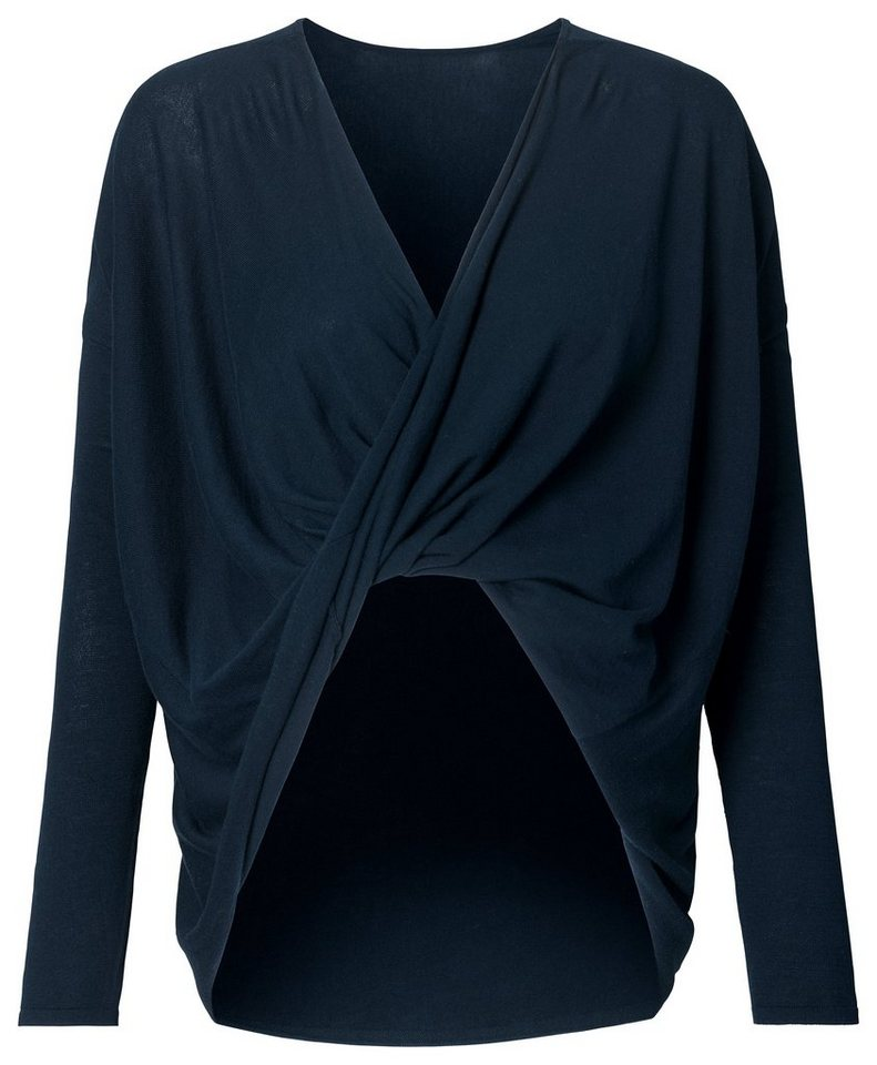 NOPPIES Pullover »Eva« in Dark Blue