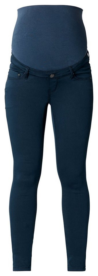 NOPPIES Slim Umstandshose »Bailey 4« in Dark Blue