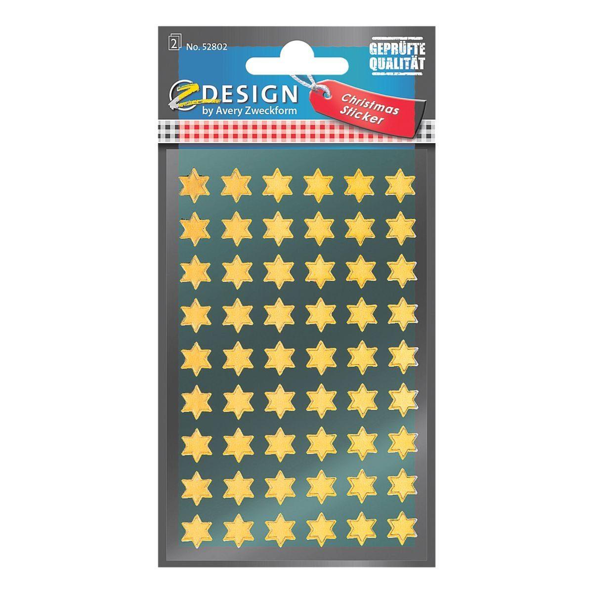 Z-Design Weihnachtssticker »Sterne«