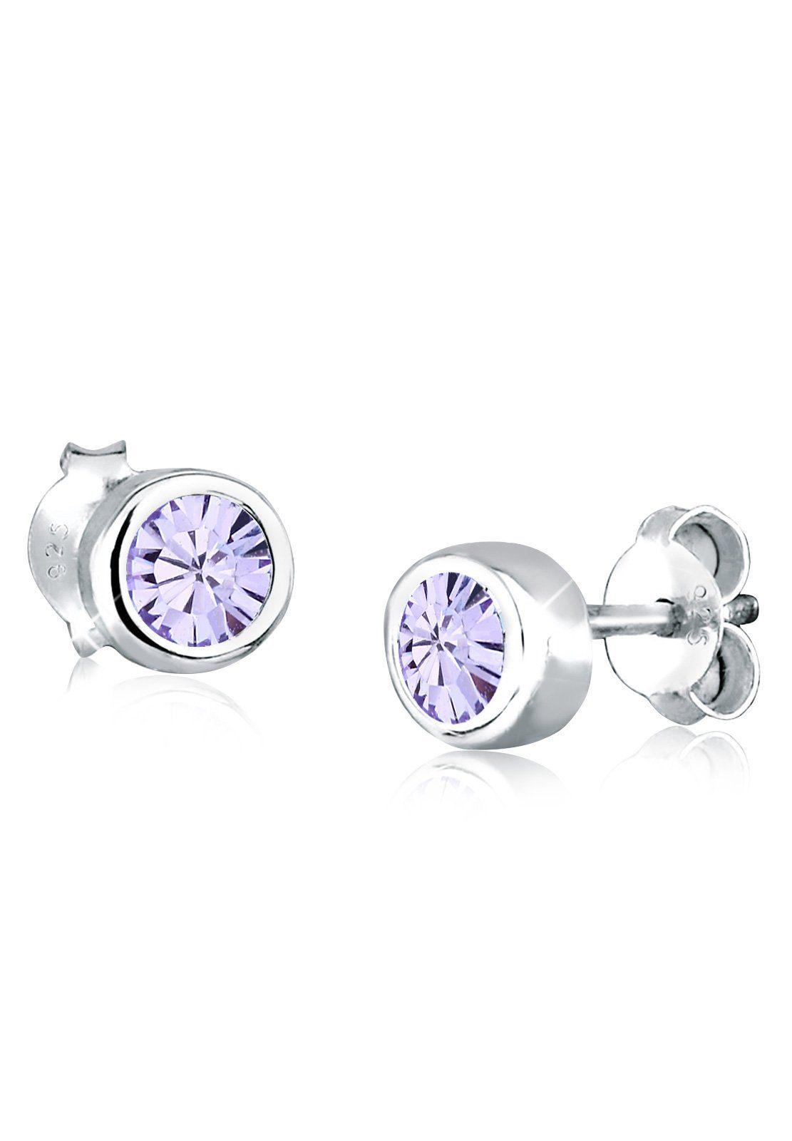 Elli Ohrringe »Swarovski Kristalle Silber«
