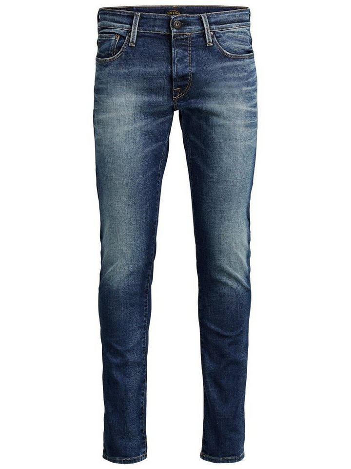 Jack & Jones Glenn BL 653 Slim Fit Jeans in Blue Denim