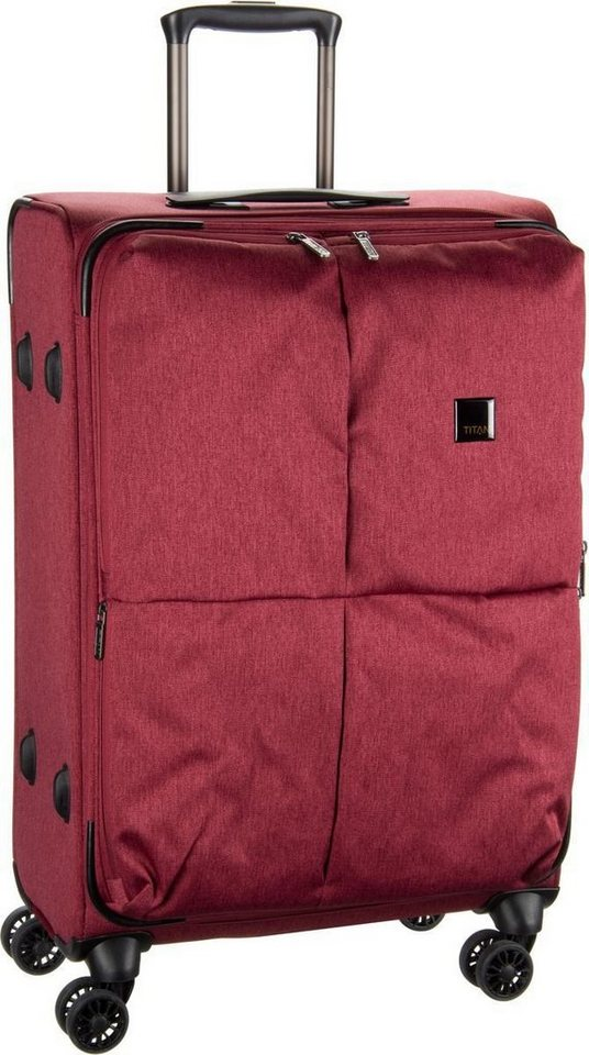 Titan Square Trolley M in Red
