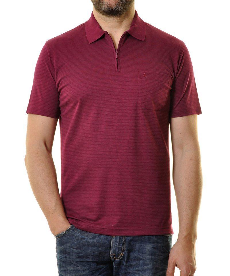 Ragman Poloshirt in violett