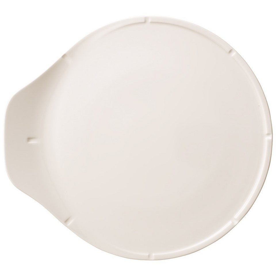 VILLEROY & BOCH Pizzaplatte 37,5x34,5cm »Pizza Passion« in Weiss