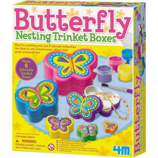 4M Kreativset Schmetterling Schmuckkästchen (Butterfly Nesting