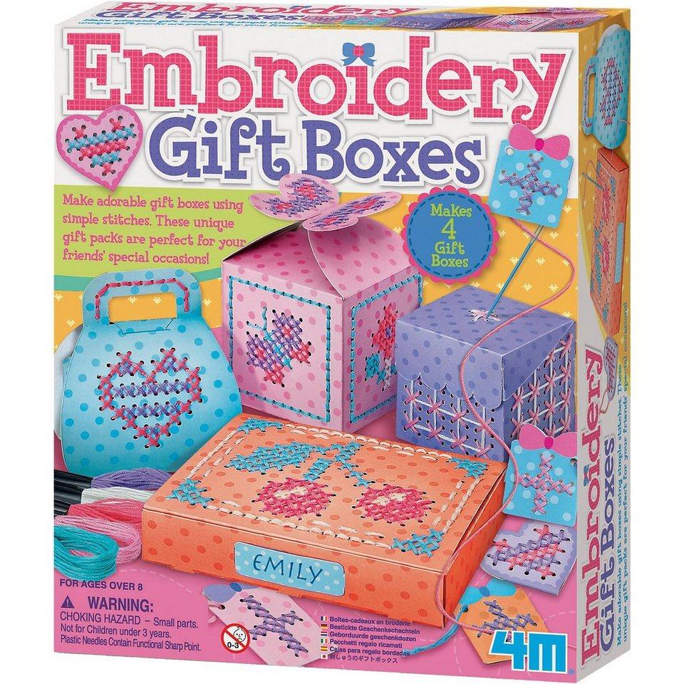 4M Stickerei-Geschenkboxen (Embroidery Gift Boxes)
