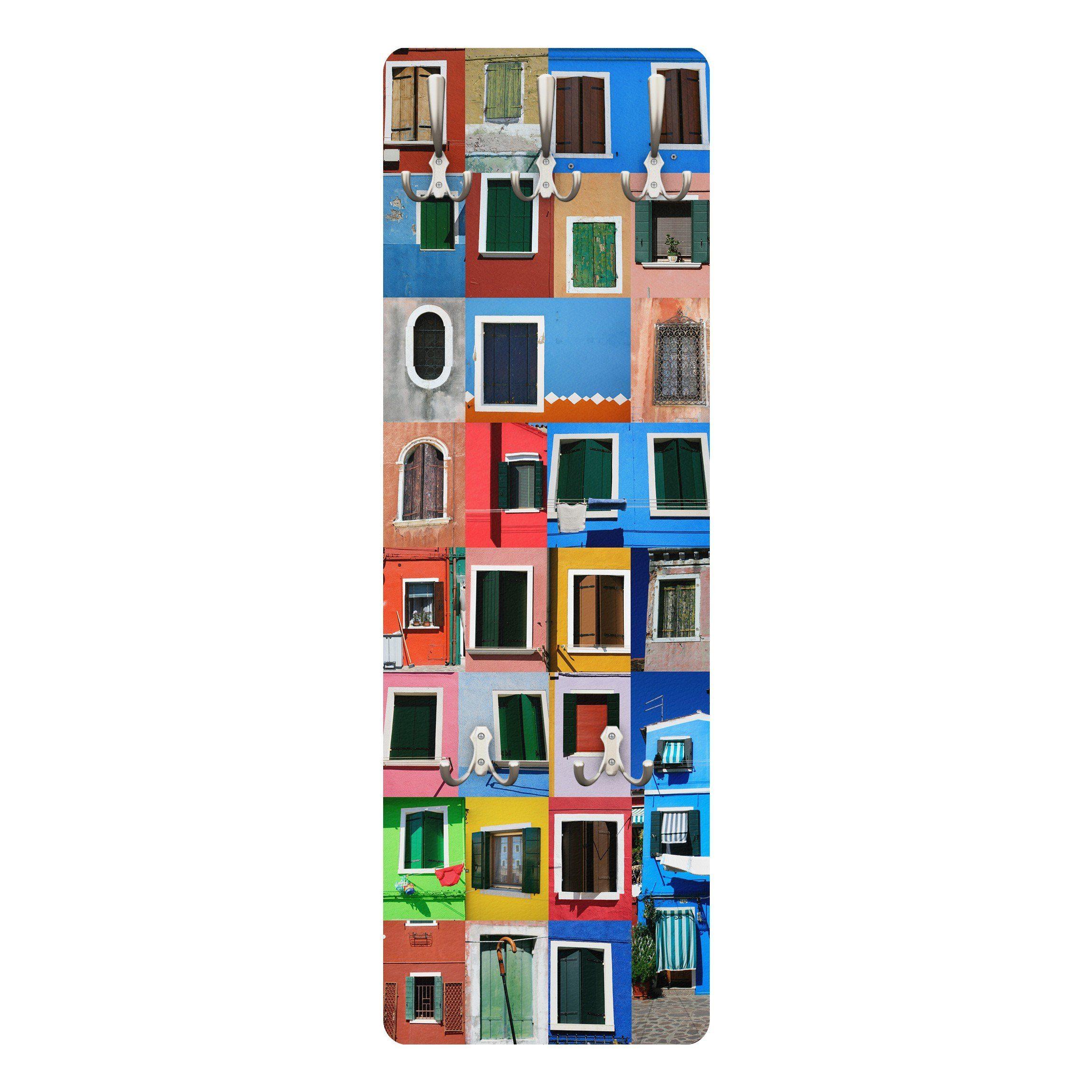Bilderwelten Wandgarderobe 139x46x2cm »Fenster der Welt«